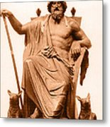 Odin, Norse God Metal Print by Photo Researchers