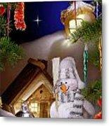 Wonderful Christmas Still Life Metal Print