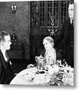 Film Still: Eating & Drinking Metal Print by Granger