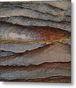 Waves Of Color, Ranging From A Pale Metal Print