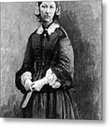 Florence Nightingale, English Nurse Metal Print