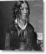 Harriet Beecher Stowe, American Metal Print