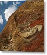 Waves Of Color, Ranging From A Pale Metal Print by Annie Griffiths