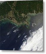 Gulf Oil Spill, April 2010 Metal Print