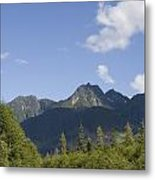 A Highway Winds Through The Mountains Metal Print by Taylor S. Kennedy