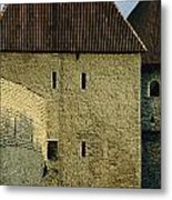 A Section Of Wall Around Tallinn, Built Metal Print by Sisse Brimberg