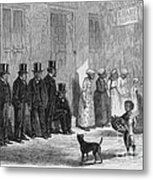A Slave-pen At New Orleans Before Metal Print