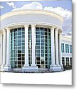 Abandoned Offices Metal Print by Kenneth Mucke