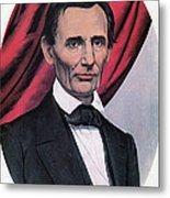 Abraham Lincoln, Republican Candidate Metal Print by Photo Researchers