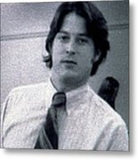 Al Gore At 22 Years Old Metal Print by Everett
