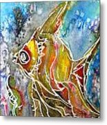 Angel Fish Metal Print by M C Sturman
