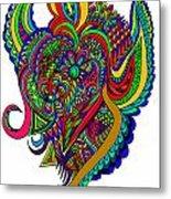 Angel Metal Print by Karen Elzinga
