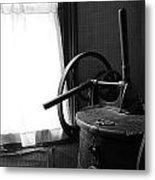 Antique Washing Machine Metal Print