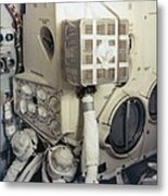 Apollo 13 Lunar Module And The Mailbox Metal Print by Everett