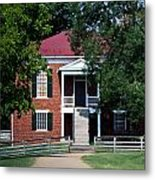 Appomattox County Court House 1 Metal Print by Teresa Mucha
