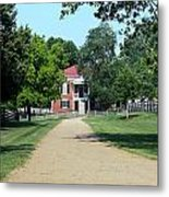 Appomattox County Court House 2 Metal Print by Teresa Mucha