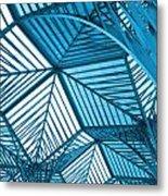 Architecture Design Metal Print