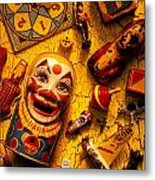 Assorted Old Toys Metal Print by Garry Gay