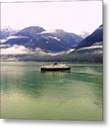 At Sea Metal Print by Mindy Newman