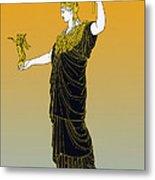 Athena, Greek Goddess Metal Print