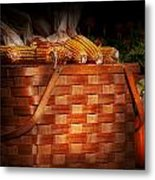 Autumn - Gourd - Fresh Corn Metal Print