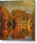 Autumn - Landscape - Tamaques Park - Autumn In Westfield Nj  Metal Print