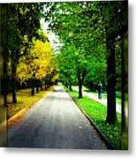 Autumn Is Comming Metal Print