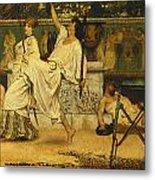 Bacchanal Metal Print by Sir Lawrence Alma-Tadema