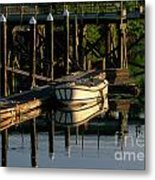 Back At The Harbor Metal Print
