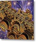 Bangkok Palace Metal Print by Pam Blackstone