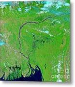Bangladesh Metal Print by Nasa