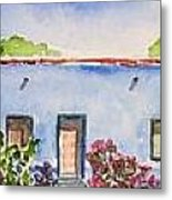 Barrio Viejo Metal Print by Regina Ammerman