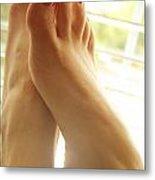 Beautiful Feet 2 Metal Print by Tos Photos