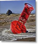 Bell Buoy Metal Print by Garry Gay