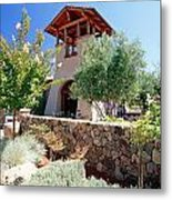 Bell Tower Of St Francis Winery Metal Print by George Oze