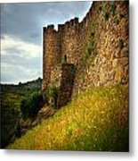 Belver Castle Metal Print by Carlos Caetano