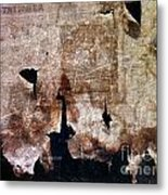 Beyond The Tattered Curtain Metal Print by Kevyn Bashore