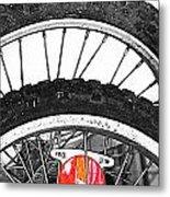 Big Wheels Keep On Turning Metal Print