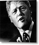 Bill Clinton Metal Print by Everett
