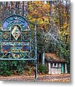 Blacksmith Shop Metal Print by Debra and Dave Vanderlaan