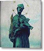 Bohemian Saint Metal Print by Linda Woods