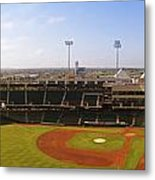 Bricktown Ballpark Metal Print