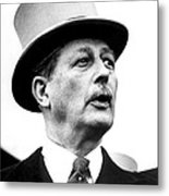 British Prime Minister Harold Metal Print by Everett