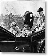 British Royal Family. Center, From Left Metal Print