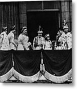 British Royal Family. From Center, L-r Metal Print