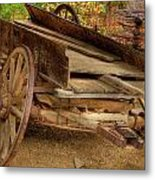 Broke Spoke I Metal Print by Charles Warren