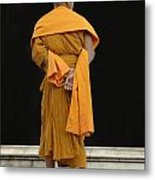 Buddhist Monk 1 Metal Print by Bob Christopher