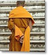 Buddhist Monk 2 Metal Print