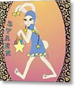 Bunnie Girls- Starr- 2 Of 4 Metal Print
