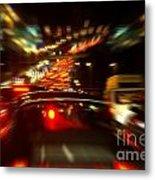 Busy Highway Metal Print by Carlos Caetano
